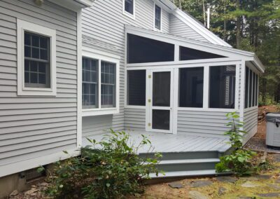This is an exterior painting project